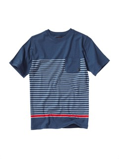 BRQ3Boys 8- 6 Mountain And Wave Shirt by Quiksilver - FRT1