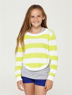 AYEGirls 7- 4 Dancing Waves Sweater by Roxy - FRT1