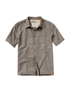 KHAMen s Deep Water Bay Short Sleeve Shirt by Quiksilver - FRT1