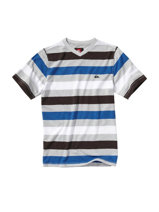 SGR3Boys 8- 6 Haano Short Sleeve Shirt by Quiksilver - FRT1