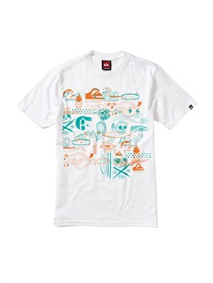WHTBoys 8- 6 Attack T-Shirt by Quiksilver - FRT1