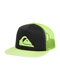 GHA0After Hours Trucker Hat by Quiksilver - FRT1