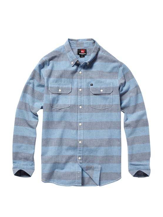BTK3Meet On Long Sleeve Flannel Shirt by Quiksilver - FRT1