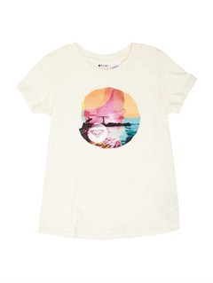 WBS0Girls 2-6 All Aboard Tee by Roxy - FRT1