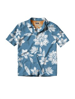 BLUMen s Aganoa Bay Short Sleeve Shirt by Quiksilver - FRT1