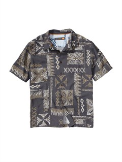 KVJ0Men s Long Weekend Short Sleeve Shirt by Quiksilver - FRT1