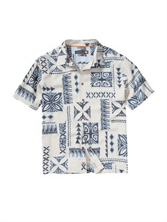WEJ0Men s Anahola Bay Short Sleeve Shirt by Quiksilver - FRT1
