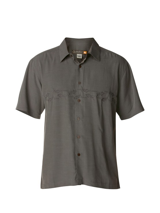 KRP0Men s Aganoa Bay Short Sleeve Shirt by Quiksilver - FRT1