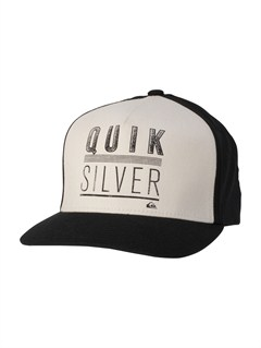 SEW0Please Hold Trucker Hat by Quiksilver - FRT1