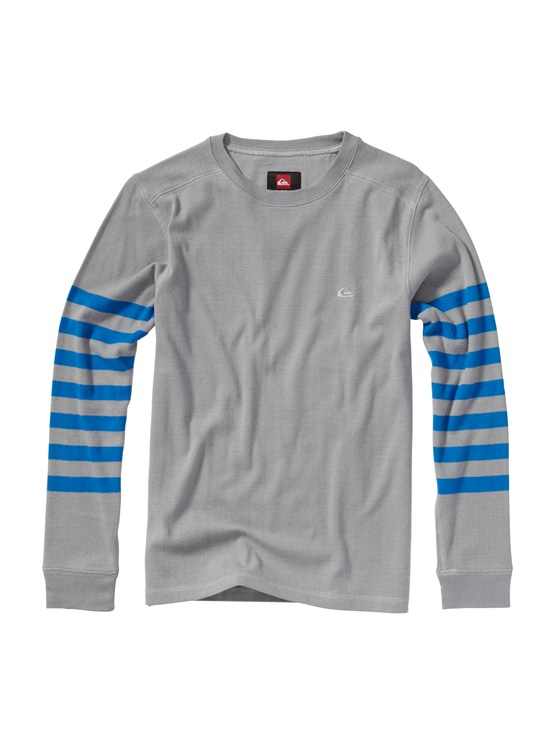 SKT3Boys 8- 6 Mountain And Wave Shirt by Quiksilver - FRT1