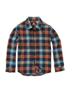BTK1Boys 8- 6 Engineer Pat Short Sleeve Shirt by Quiksilver - FRT1
