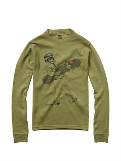 GNR0Boys 8- 6 Beatnik Long Sleeve T-Shirt by Quiksilver - FRT1