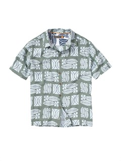 BFG0Men s Baracoa Coast Short Sleeve Shirt by Quiksilver - FRT1
