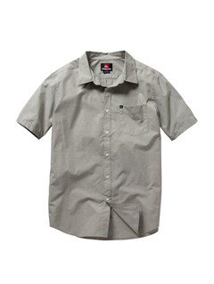 KTA0Boys 8- 6 Engineer Pat Short Sleeve Shirt by Quiksilver - FRT1
