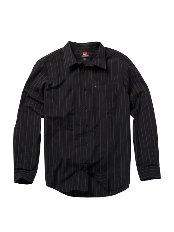KVJ3Meet On Long Sleeve Flannel Shirt by Quiksilver - FRT1