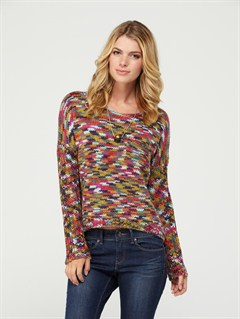 MPF7Spring Fling Long Sleeve Top by Roxy - FRT1