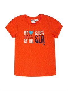 NNZ0Girls 2-6 All Aboard Tee by Roxy - FRT1