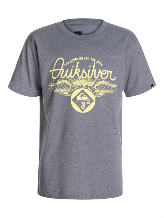 KPCHBoys 8- 6 Mountain And Wave Shirt by Quiksilver - FRT1