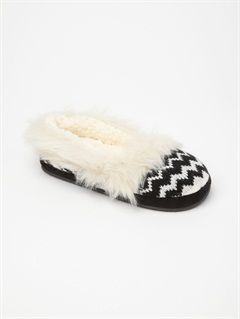 BWVGirls 7- 4 Pine Cone Slippers by Roxy - FRT1