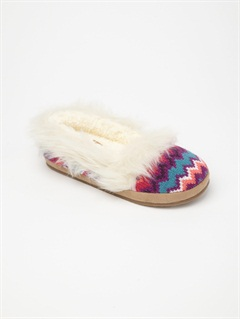 PKCGirls 7- 4 Biscotti Slippers by Roxy - FRT1