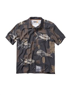 BLKMen s Clear Days Short Sleeve Shirt by Quiksilver - FRT1