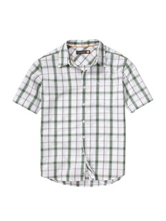 GPL0Men s Aganoa Bay Short Sleeve Shirt by Quiksilver - FRT1