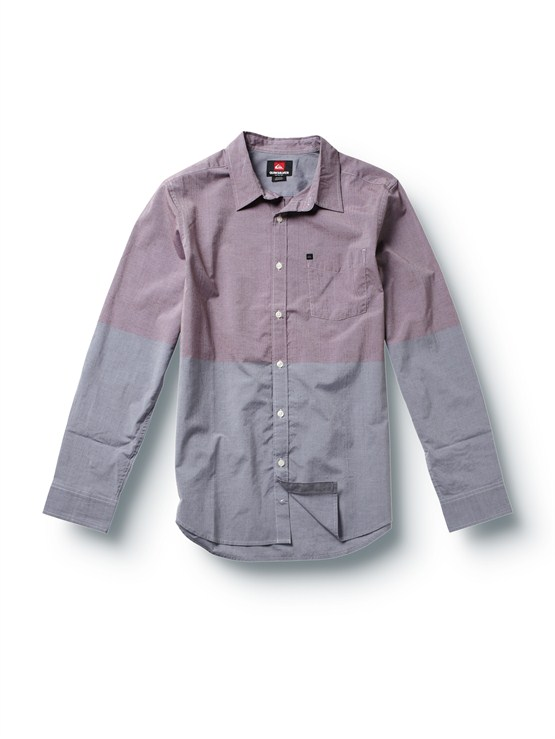 CBTTube Release Long Sleeve Oxford Shirt by Quiksilver - FRT1