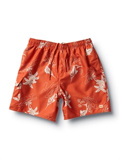 "ROGButt Logo  7"" Volley Boardshorts by Quiksilver - FRT1"