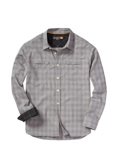SLA0Fuzzy Goggles Long Sleeve Flannel Shirt by Quiksilver - FRT1