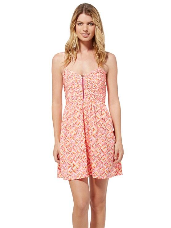 NNZ6Shore Thing Dress by Roxy - FRT1
