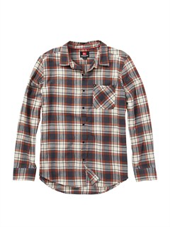WDV1Bam Bam Long Sleeve Flannel Shirt by Quiksilver - FRT1