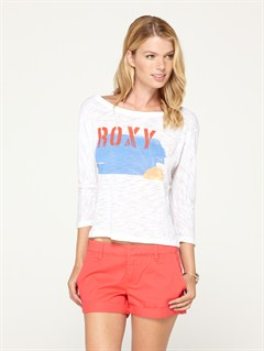 WBB0Beach Park Raglan Sleeve Tee by Roxy - FRT1