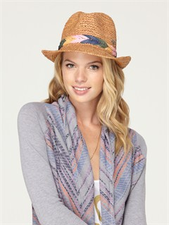 WFM0Breezy Straw Hat by Roxy - FRT1