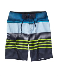 KTP3Boys 8- 6 Kelly Boardshorts by Quiksilver - FRT1