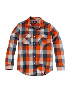 NMW1Boys 8- 6 Engineer Pat Short Sleeve Shirt by Quiksilver - FRT1
