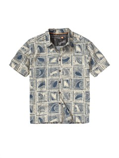 BSL0Men s Baracoa Coast Short Sleeve Shirt by Quiksilver - FRT1