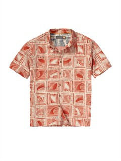 RQJ0Men s Long Weekend Short Sleeve Shirt by Quiksilver - FRT1