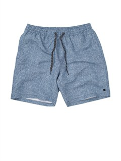 "BND6Butt Logo  7"" Volley Boardshorts by Quiksilver - FRT1"