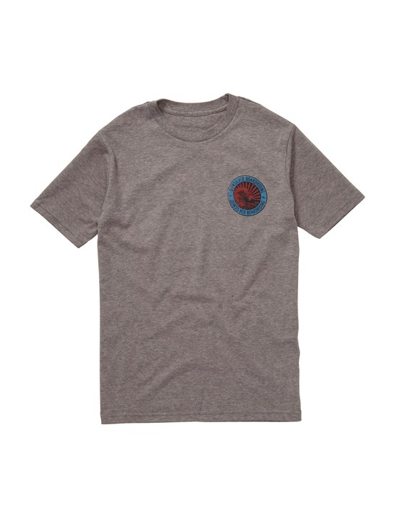 KPF0Boys 2-7 Crash Course T-Shirt by Quiksilver - FRT1