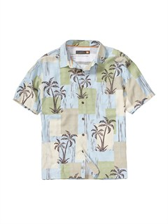 BFG0Men s Anahola Bay Short Sleeve Shirt by Quiksilver - FRT1