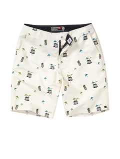 WDV6Board Walker Elastic Waist 20  Shorts by Quiksilver - FRT1