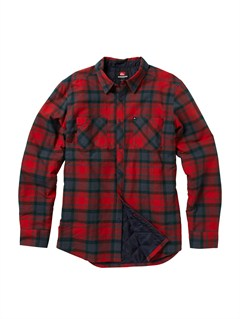 RQQ1Bam Bam Long Sleeve Flannel Shirt by Quiksilver - FRT1