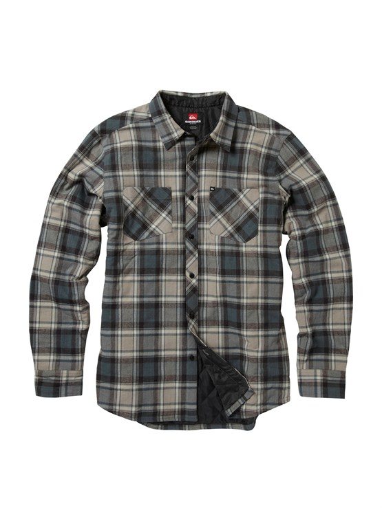 SKT1Meet On Long Sleeve Flannel Shirt by Quiksilver - FRT1