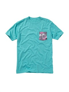 BLK0Mixed Bag Slim Fit T-Shirt by Quiksilver - FRT1