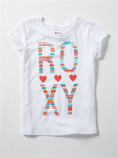 WHTBaby Barrel Buds Harmony Tee by Roxy - FRT1