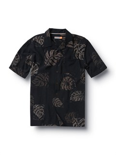 BLKMen s Baracoa Coast Short Sleeve Shirt by Quiksilver - FRT1