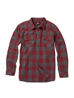 RRD1Meet On Long Sleeve Flannel Shirt by Quiksilver - FRT1