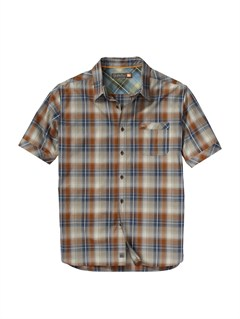 BSL0Men s Deep Water Bay Short Sleeve Shirt by Quiksilver - FRT1