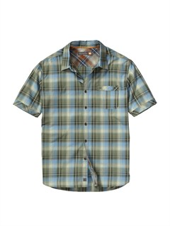 GSS0Men s Baracoa Coast Short Sleeve Shirt by Quiksilver - FRT1