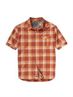 RQS0Men s Aganoa Bay Short Sleeve Shirt by Quiksilver - FRT1